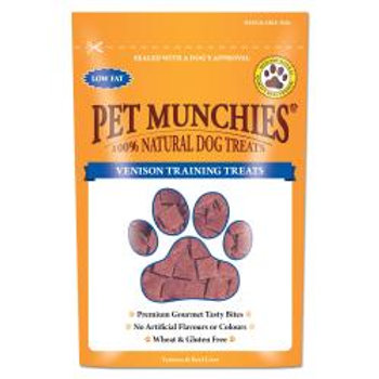 Pet Munchies Natural Venison Training Treats