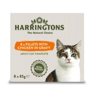 Harringtons Cat Chicken in Gravy Multipack 8pk