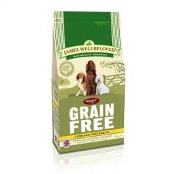 James Wellbeloved Dog Adult Grain Free Lamb & Vegetables