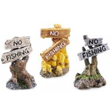 Classic No Fishing Assorted