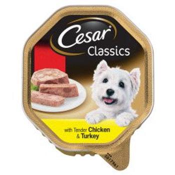 Cesar Classic Chicken & Turkey PM 2/£1.30