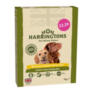 Harringtons Turkey & Veg £2.29