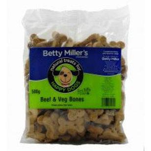 Betty Millers Beef & Veg Bones (Wheat Gluten Free)