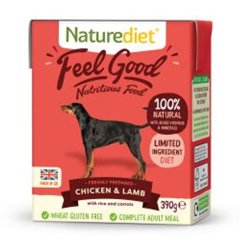 Naturediet Feel Good Chicken & lamb