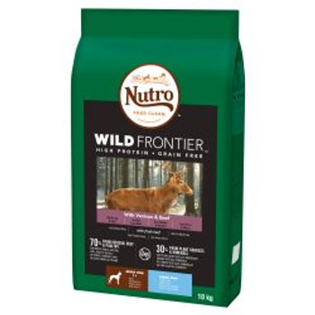 Nutro Dog Wild Frontier Adult Large Breed Venison & Beef 10kg