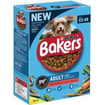 Bakers Adult Beef & Vegetable PM £2.49
