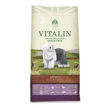 Vitalin Natural Grain-Free Adult Duck & Potato