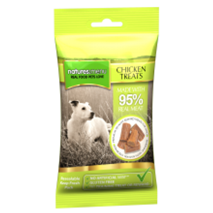Natures Menu Real Meaty Dog Treats with Chicken