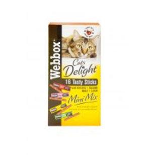 Webbox Cat Stick Mini Assorted