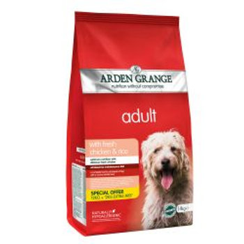 Arden Grange Dog Adult Chicken & Rice