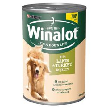 Winalot Lamb & Turkey 70p