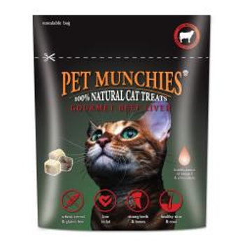 Pet Munchies Gourmet Beef Liver for Cats