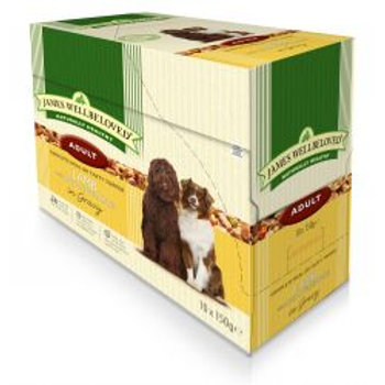 James Wellbeloved Dog Adult Lamb & Rice 10 Pack