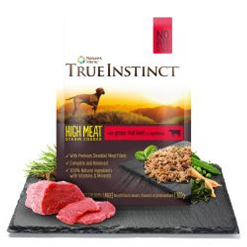 True Instinct Selected Beef Fillets for Medium/Large Breed Adult Dogs