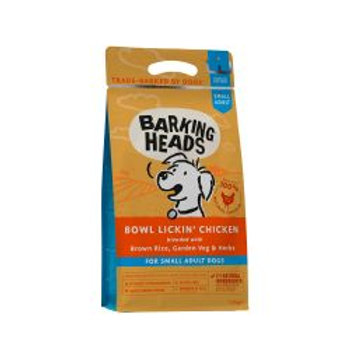 Barking Heads Small Breed Bowl Lickin' Chicken (