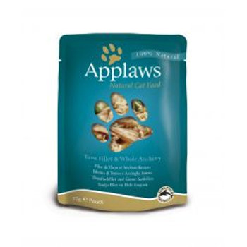 Applaws Cat Pouch Tuna & Anchovy 12 Pack