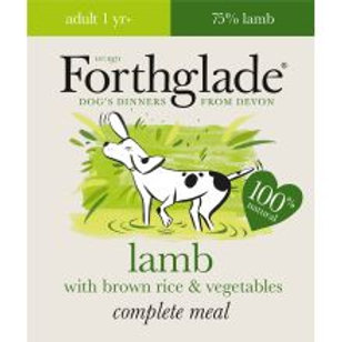 Forthglade Complete Meal Adult Lamb with Brown Rice & Vegetables