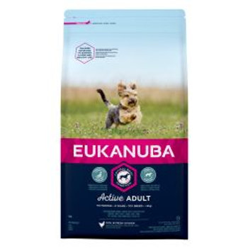 EUKANUBA Active Adult Toy Breed Rich In Fresh Chicken