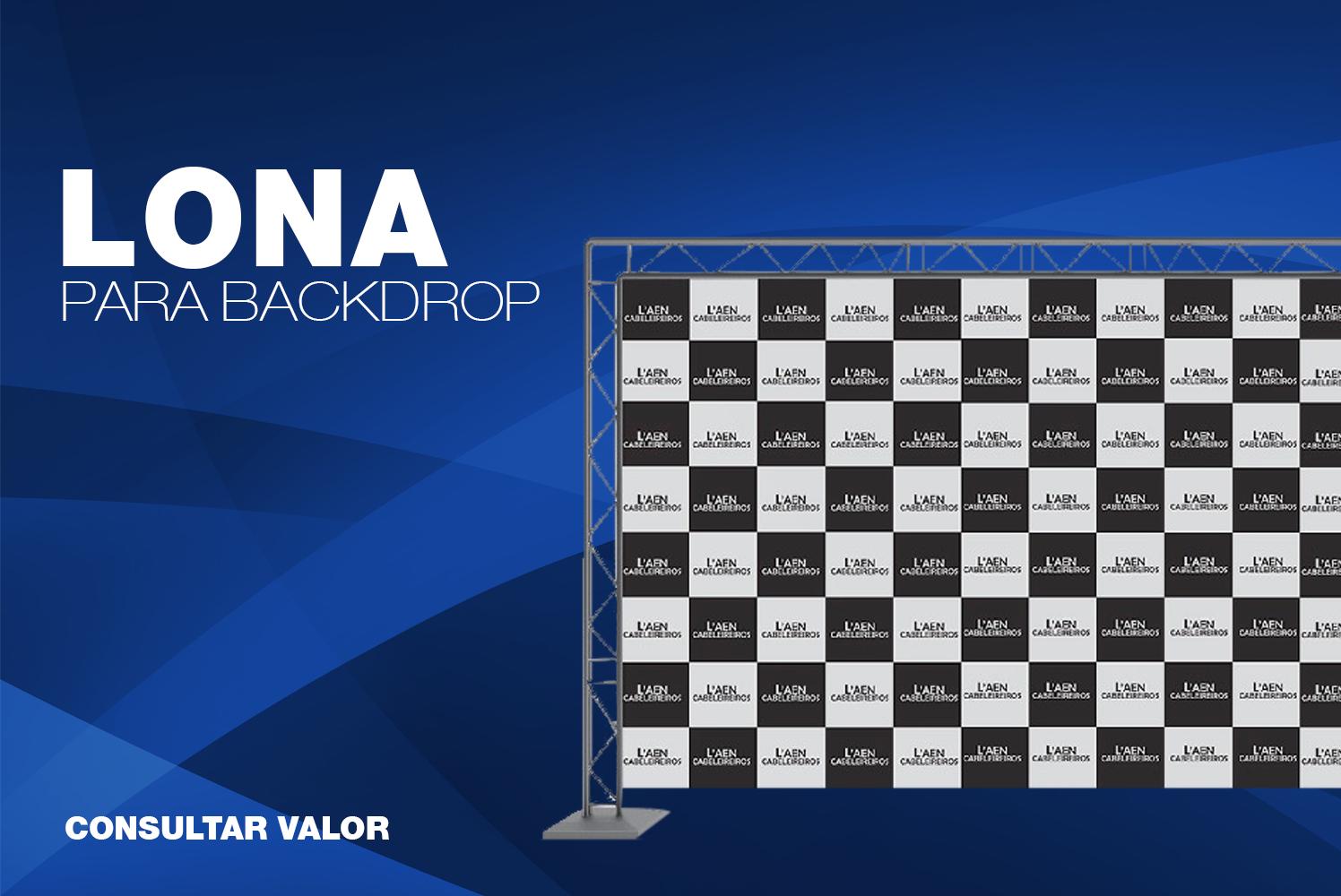 Promoção - Backdrop