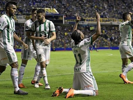 Palmeiras faz dois gols e espanta fantasma de La Bombonera