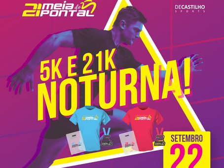 Nota oficial: cancelamento da Meia Maratona do Pontal