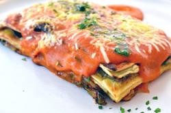 Lasagna de Zuccinis y Berenjenas