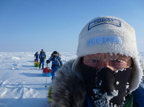 Polar harnesses, masks and sled covers