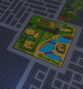A first look at the Genesis Plaza!