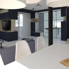 Réaménagement maison, espace, volume et décoration