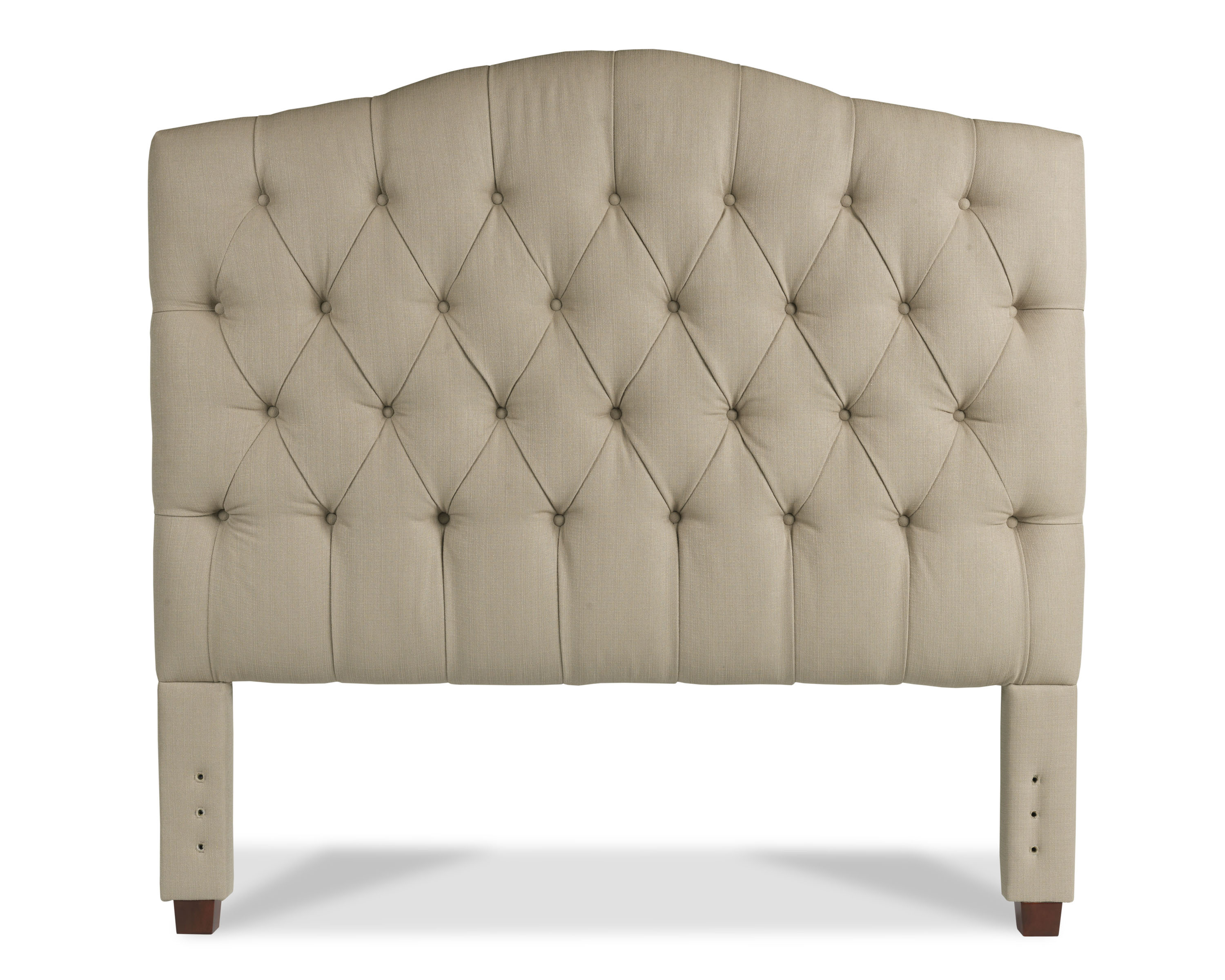 Arched Tufted Headboard