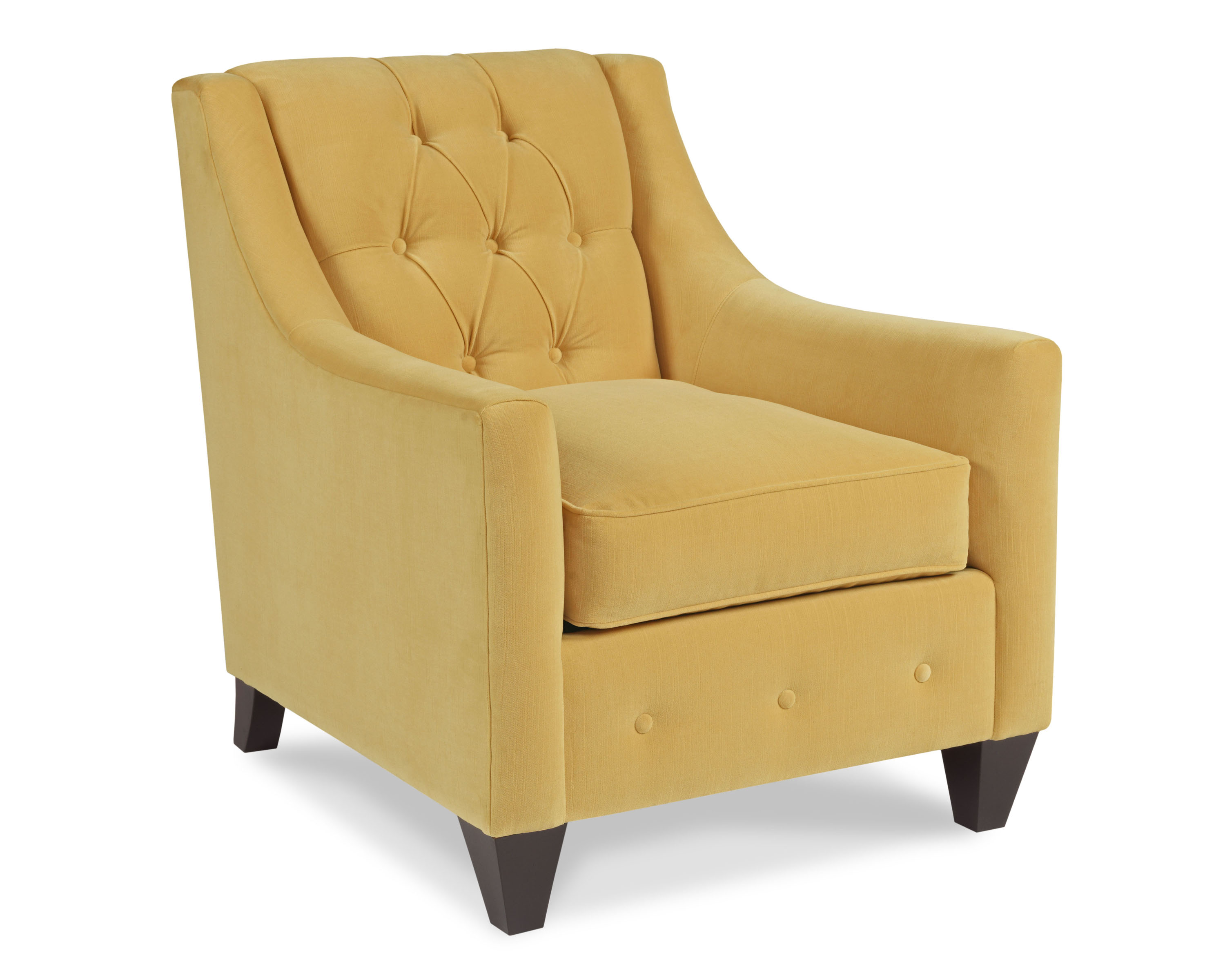 Tufted Low Back Chair