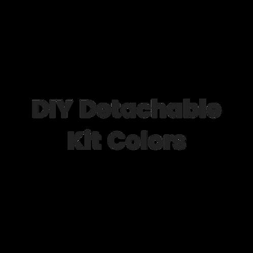 DIY Detachable Kit Colors