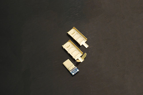 Gold USB-C Connector