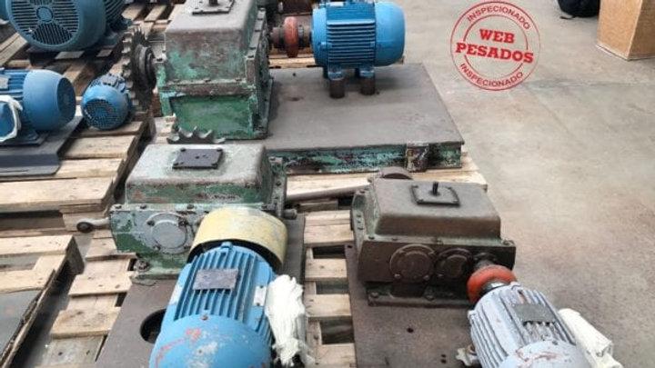 Redutor Red-Var Motor WEG 3 cv 1730 rpm