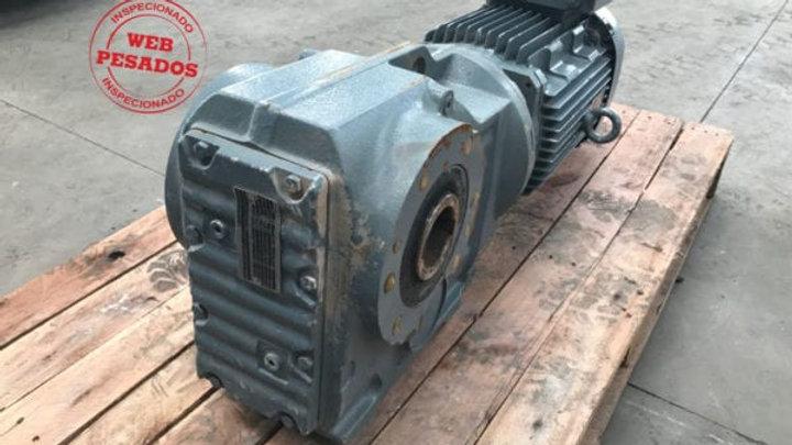 Motor Redutor do Elevador Usina de Asfalto SEW-EURODRIVE 60 Hz 11 cv 1765 rpm