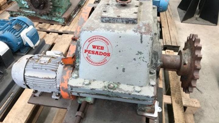 Redutor Borg Mar Motor WEG 4 cv 1730 rpm