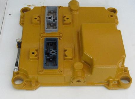 Principais falhas no Módulo de Controle Eletrônico de máquinas pesadas.