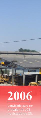 Máquinas para construção JCB - início da distribuição.