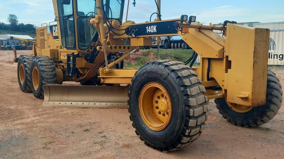 Motoniveladora Cat 140K 17,5T - 2014 - 6.465h