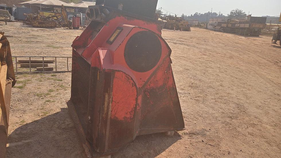 Caçamba Processadora com Placa Acopladora para Escavadeiras