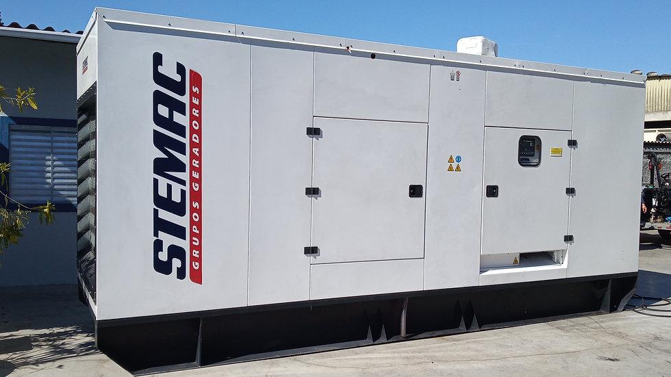 Grupo Gerador Stemac 500 KVa 2014 - Apenas 384h