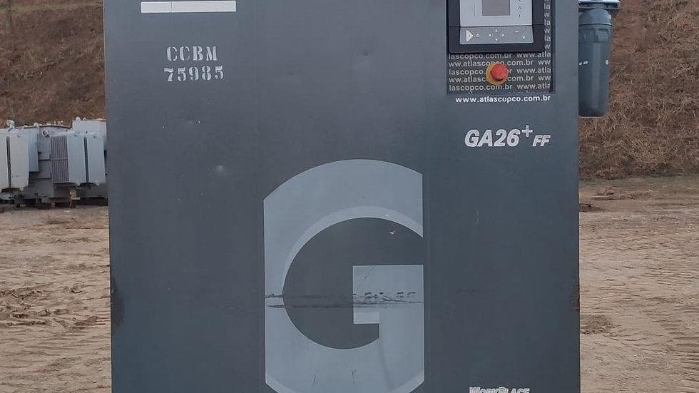 Compressor de Parafuso GA26 + FF Atlas Copco 2012