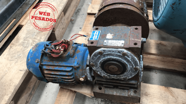 Redutor Macopema Motor Eberle 1,5 cv 1750 rpm