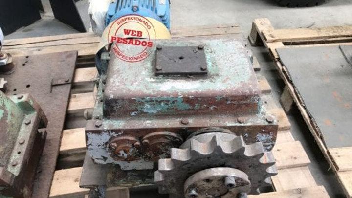 Redutor Red-Var Motor WEG 5 cv 1730 rpm