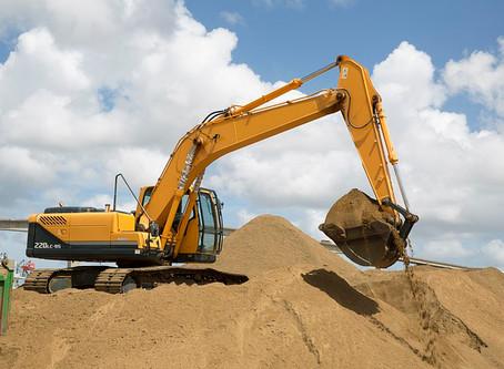 Conheça os equipamentos que devem ser usados na movimentação de terra.