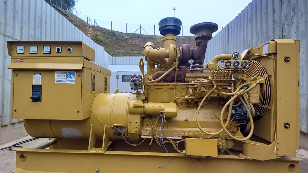 Grupo Gerador Cat 220 KVa - 2.323h