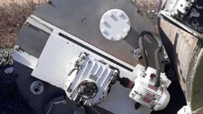 Tanque de Inox Niro Atomizer Vertical 1.200 litros