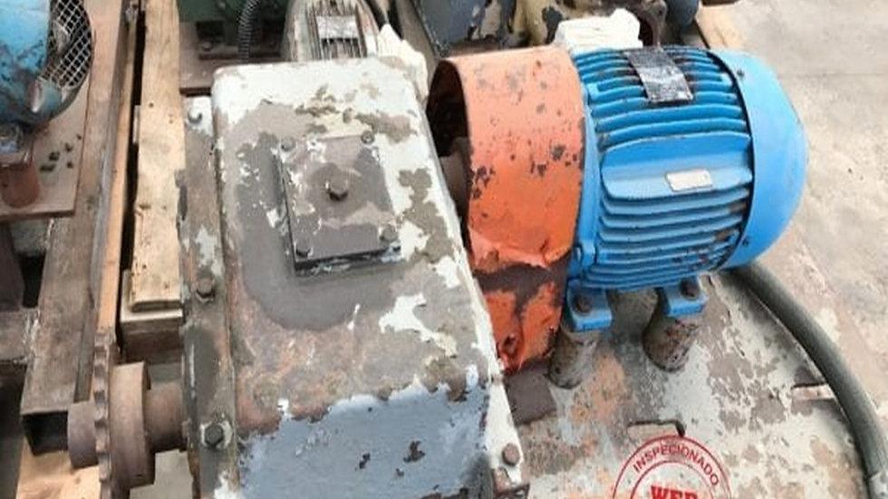 Redutor Red-Var Motor WEG 4 cv 1730 rpm