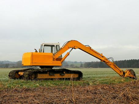 Máquinas agrícolas: 5 máquinas da construção amplamente utilizadas na agricultura.