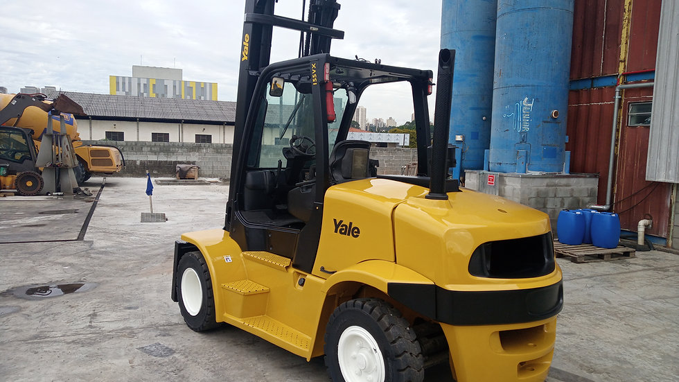 Empilhadeira Yale Diesel GDP 155 VX 7T - 2011